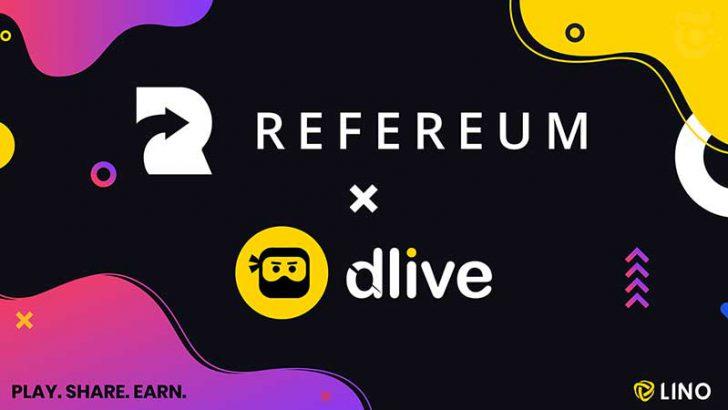 ゲーム動画配信者に「仮想通貨報酬」提供へ|DLiveとRefereumが提携