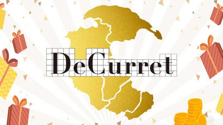 DeCurret:ビットコインや現金が貰える「2大キャンペーン」を開催【2019年11月1日〜】