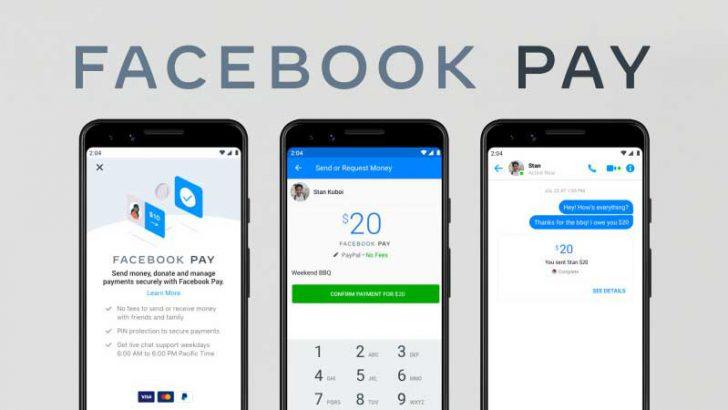 フェイスブック:決済サービス「Facebook Pay」を発表|米国で今週中にも提供開始