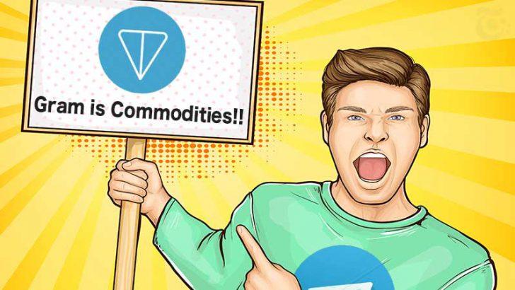 Telegram「Gramトークンは違法だ」と主張する米SECに猛反論