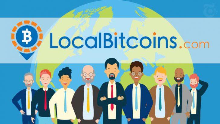 仮想通貨のP2P取引所「LocalBitcoins」新規登録者は毎月13万人以上に