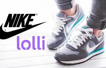 Nike:ビットコイン報酬アプリ「Lolli」と提携|商品購入者にBTC還元