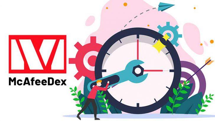 分散型取引所McAfeeDex:複数のバグにより「Tron/TRX」サポートに遅延