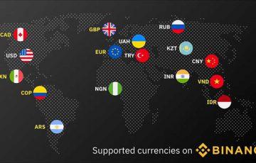 BINANCE:仮想通貨販売所で「8種類の法定通貨」に新規対応