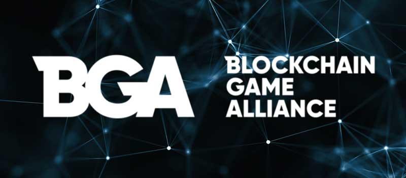 Blockchain Game Allianceのlogo