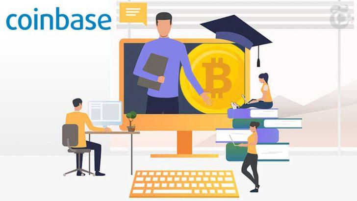 コインベース:仮想通貨学習サービス「Coinbase Earn」のサービス強化へ