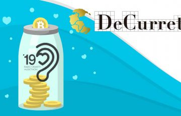 ビットコイン募金活動で「ラジオ・チャリティ・ミュージックソン」に協賛:DeCurret