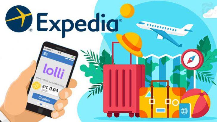 旅行予約大手Expedia:ビットコイン還元アプリ「Lolli」と提携