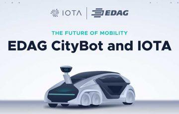 IOTA財団:モビリティの未来を変える多機能コンセプトカー「EDAG CityBot」を紹介