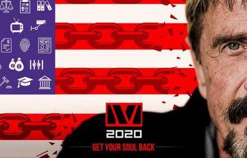 ジョン・マカフィー「2020年アメリカ大統領選挙キャンペーン」正式に開始