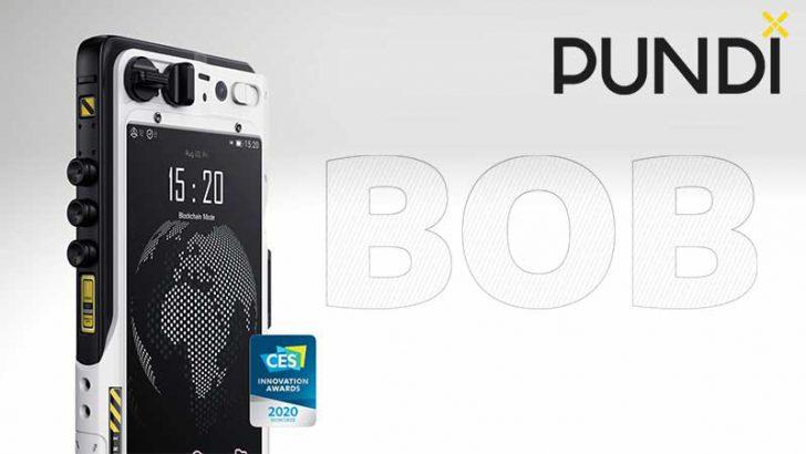 ブロックチェーンスマホ「Blok on Blok/BOB」日本先行発売を開始:PundiX(NPXS)