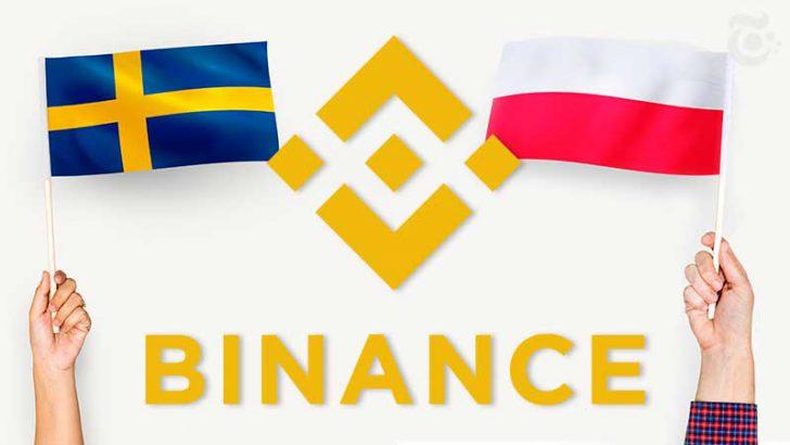 BINANCE「ポーランド・スウェーデン」の法定通貨に対応