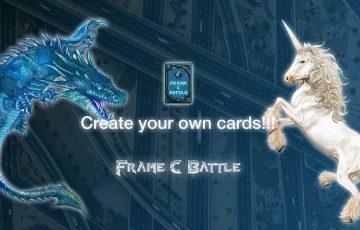 ブロックチェーンTCG「Frame C Battle」オープンβ版テストを開始