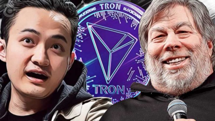 Tron CEO「Apple共同設立者」との提携を示唆