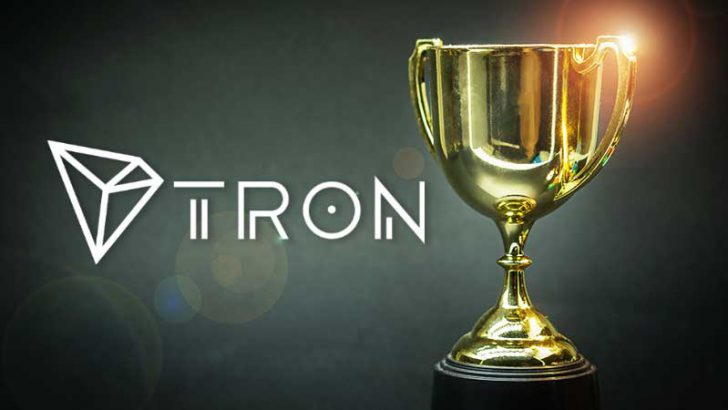 Tron(TRX)「最も革新的なパブリックチェーン賞」を受賞