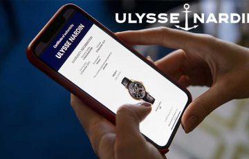 高級時計メーカー「Ulysse Nardin」ブロックチェーン保証書を導入