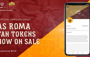 ASローマ:公式ファントークン「ASR」販売開始|Sociosアプリで投票受付も