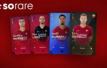 ASローマ:ブロックチェーンカードゲーム「Sorare」と提携