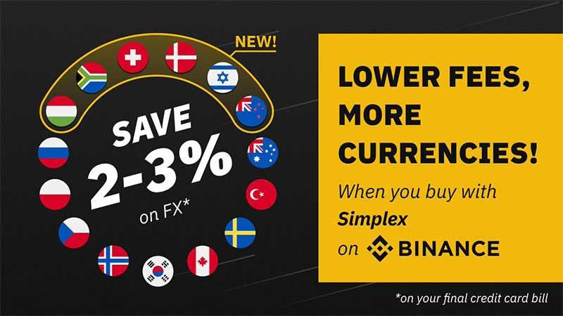 仮想通貨取引所バイナンス:仮想通貨販売所で「15種類の法定通貨」をサポート