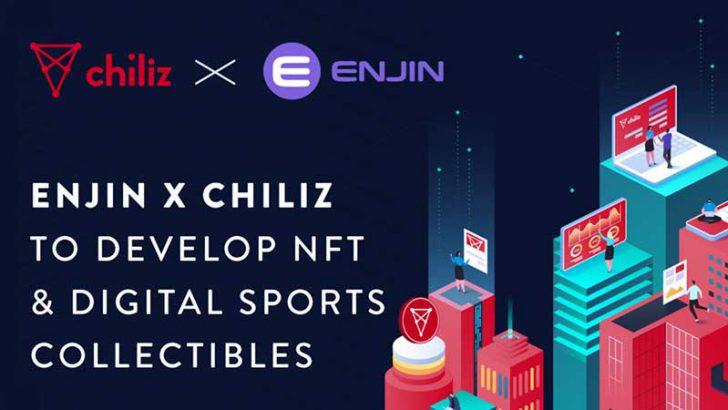 Chiliz:ブロックチェーングッズ発行に向け「Enjin/ENJ」と提携