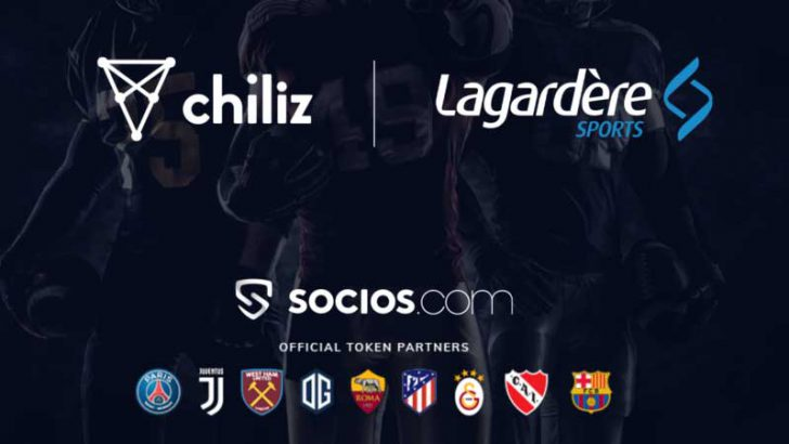Chiliz「NFL・MLB」でもファントークン発行へ|LagardèreSportsと提携