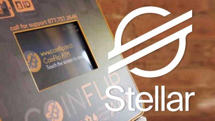 米仮想通貨ATM大手「CoinFlip」ステラルーメン(XLM)の取扱い開始