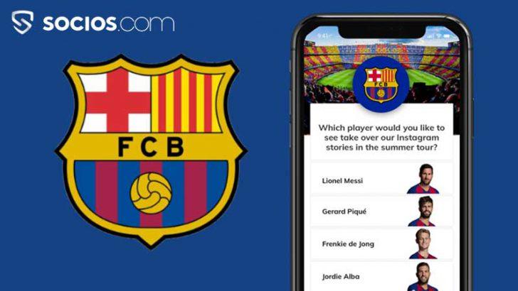 FCバルセロナ:仮想通貨企業「Chiliz/CHZ」と提携|公式ファントークン発行へ