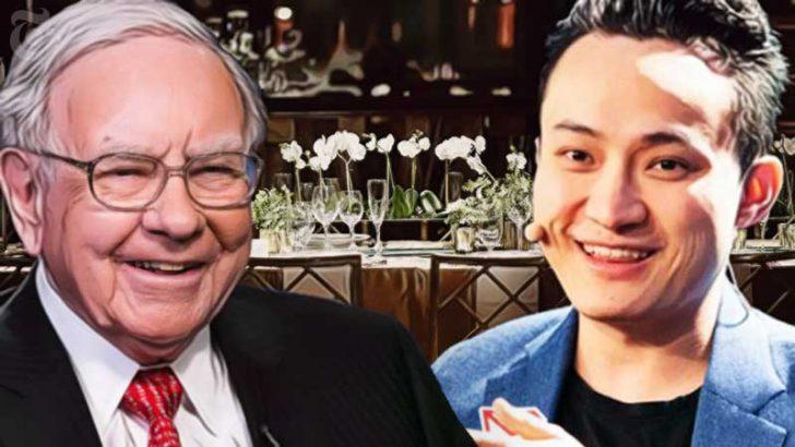伝説の投資家バフェット氏が「ビットコイン保有者」に|Tron CEO、食事会の内容を報告