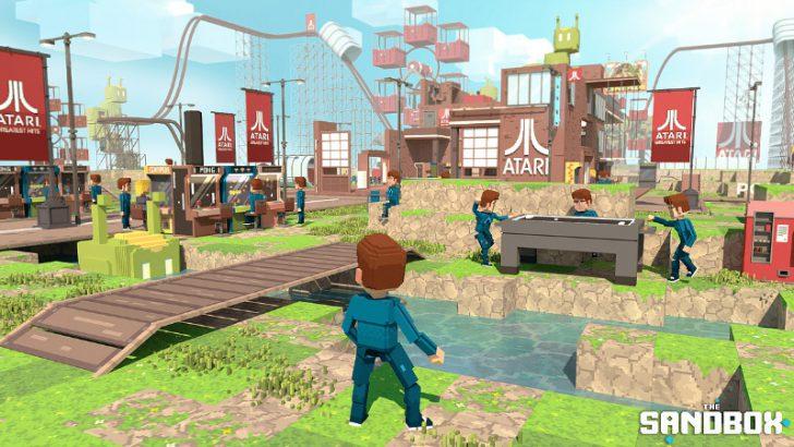 ゲーム開発老舗Atari:The Sandbox上で「仮想テーマパーク」構築へ