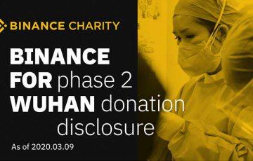 仮想通貨取引所BINANCE「新型コロナウイルス被害者支援」で医療品などを寄付