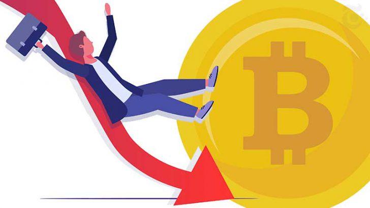 【速報】ビットコイン価格「80万円台」に急落|仮想通貨市場は全面安の展開に