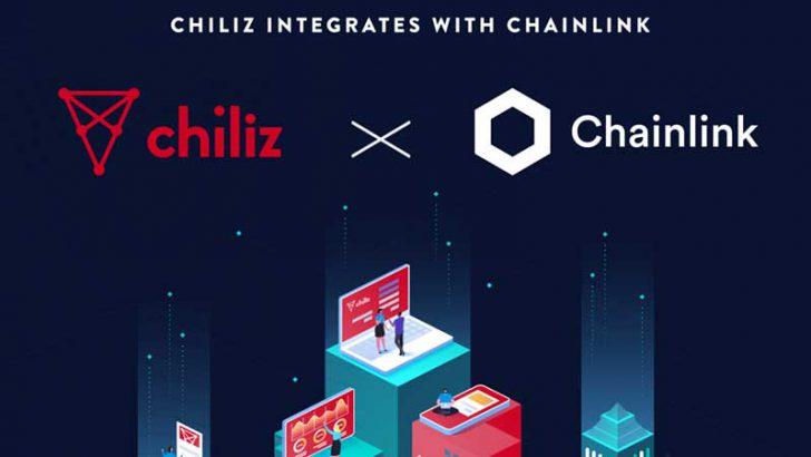 Chilizが「Chainlink」と提携|イベントに基づいた限定トークン自動生成が可能に