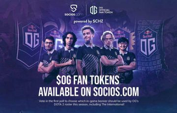 Socios:eスポーツチーム「OG」初のファン投票受付開始