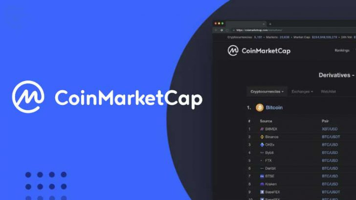 CoinMarketCap:仮想通貨「デリバティブ市場」のデータ配信開始