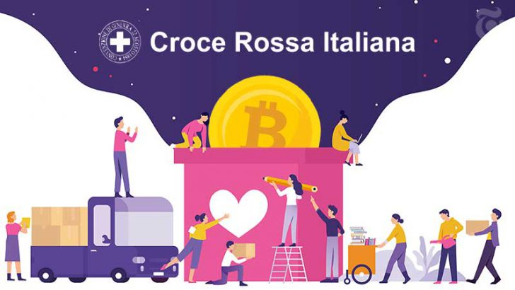イタリア赤十字社:ビットコインで「新型コロナウイルス」の寄付金募る
