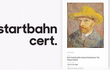 アート作品に「ICタグ付きブロックチェーン証明書」を発行|Startbahnが新サービス
