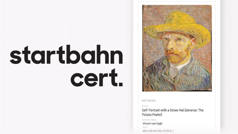 Startbahn:アート作品に「ICタグ付きブロックチェーン証明書」を発行