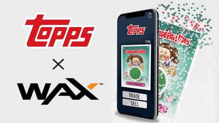 お菓子グッズ製造大手「Topps」ブロックチェーントレーディングカード発行へ