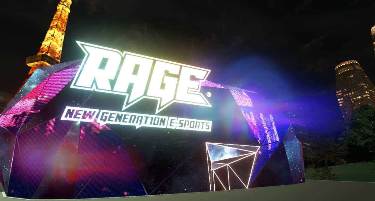 「V-RAGE」会場の外観