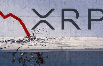 【速報】XRP価格、サポートライン下回り「19円台」まで急落