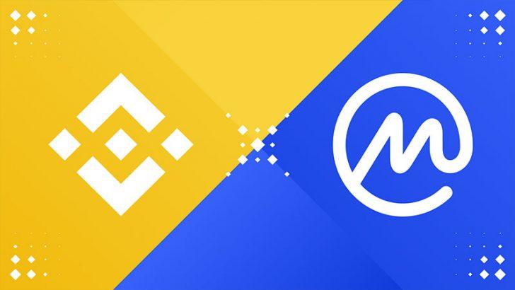 BINANCE:大手仮想通貨情報サイト「CoinMarketCap」買収を完了
