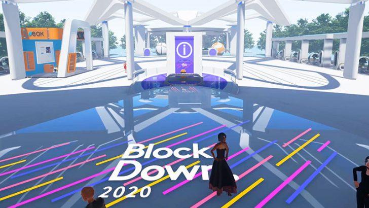 VR空間に構築された「ブロックチェーンイベント会場映像」を公開【BlockDown 2020】
