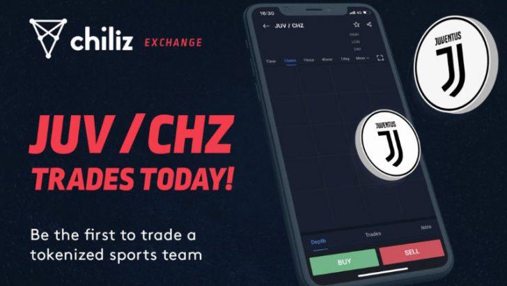 仮想通貨取引所「Chiliz.net」ユベントスファントークン(JUV)の取引開始
