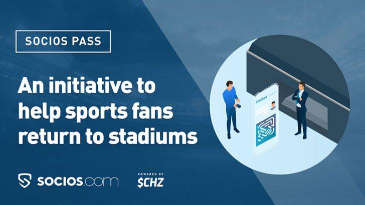 Chiliz:新型コロナの免疫証明に役立つ「Socios Pass」を考案|試合観戦時の安全対策に
