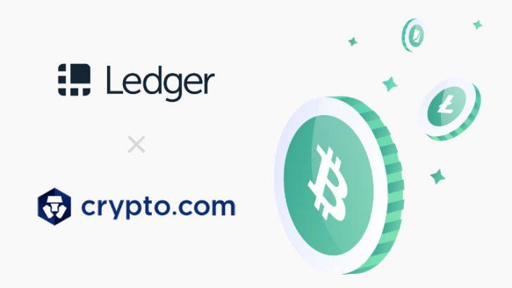 ハードウェアウォレットLedger「Crypto.com」経由の仮想通貨決済に対応