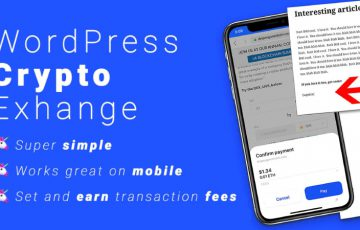WEBサイトに「仮想通貨取引機能」を実装できるWordPressプラグイン登場