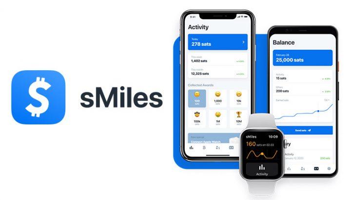 運動するとビットコインが貯まるアプリ「sMiles」近日公開へ