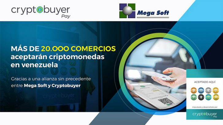 ベネズエラ20,000店舗以上で「仮想通貨決済」導入へ|CryptobuyerとMega Softが提携
