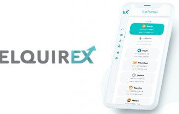 仮想通貨交換所ELQUIREX「ウォレット・投資オプション」の機能を追加