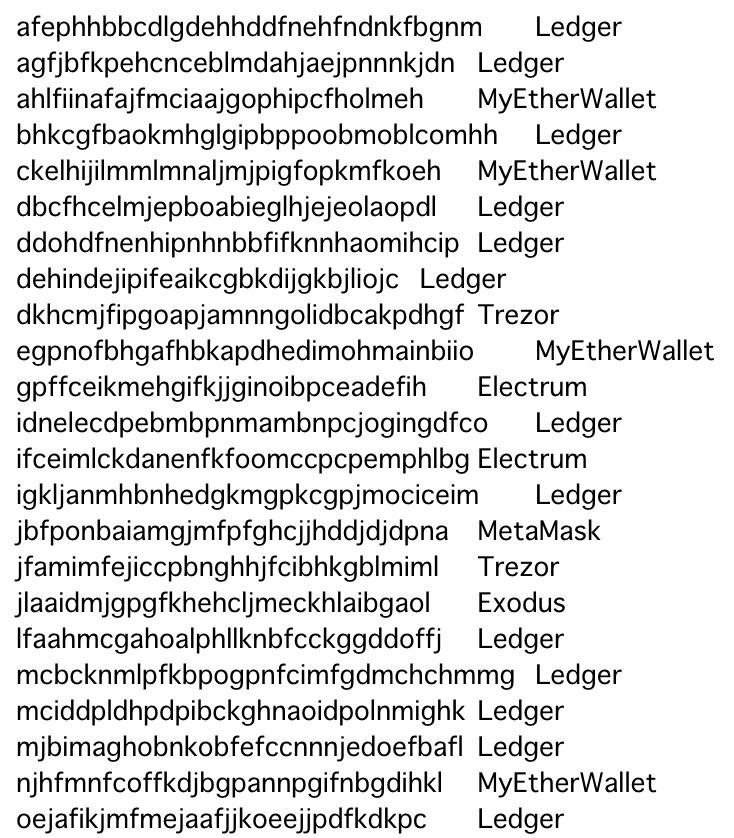 詐欺アプリをまとめたリストの一部(画像:pastebin.com)